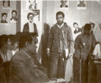 شهید محمد کچویی در دادگاه  کمالی شکنجه گر ساواک