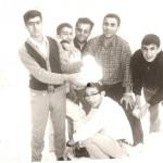 محمد کچویی در جمع دوستان